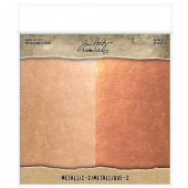 TIM HOLTZ® IDEA-OLOGY™ - Paper Stash Kraft Metallic Paper - Metallic 2 - TH93780